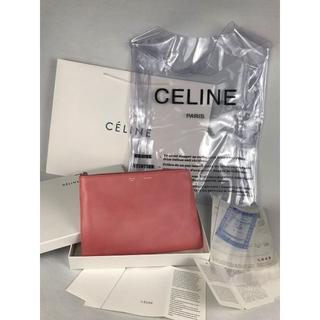 2c31da5d992d セリーヌ(celine)のセリーヌ PVC ビニールバッグ クラッチ付き 新品(クラッチバッグ)