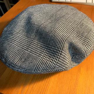 エイチアンドエム(H&M)のヘネスアンドマウリッツ  細チェック ベレー帽(ハンチング/ベレー帽)