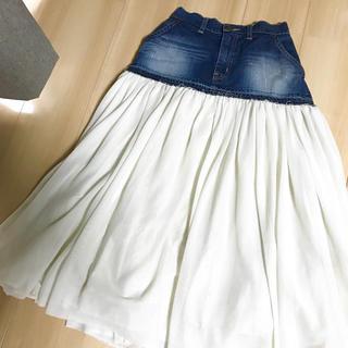 アメリカーナ(AMERICANA)のUNITED ARROWS 別注 Americana リメイクスカート(ロングスカート)