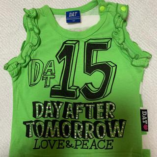 ダット(DAT)のDAT Tシャツ タンクトップ ノースリーブ 女の子 子供服 ベビー服(Tシャツ/カットソー)