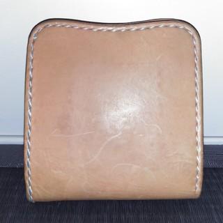トチギレザー(栃木レザー)の栃木レザー 革 二つ折り 財布 中古(折り財布)