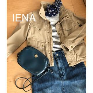 イエナ(IENA)のIENA  ミリタリーショートジャケット(ミリタリージャケット)