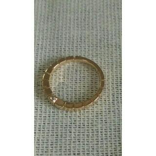 エテ(ete)のete エテ ピンキーリング 3号 ピンクゴールド 10金 ラニエール(リング(指輪))