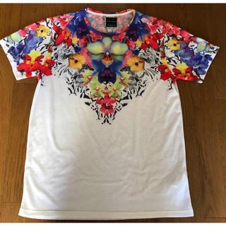 ザラ(ZARA)のZARA 総柄 Tシャツ(Tシャツ/カットソー(半袖/袖なし))