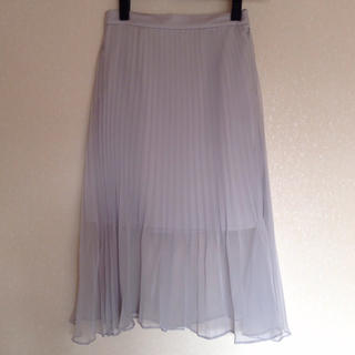 89457f87ea4be スナイデル(snidel)の新品未使用 ♡ snidel オーガンジープリーツスカート(ひざ丈