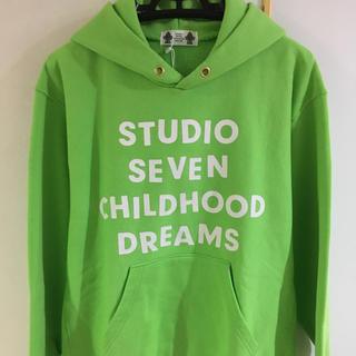 ジーユー(GU)のGU × STUDIO SEVEN ビッグ スウェット パーカー Tシャツ(パーカー)