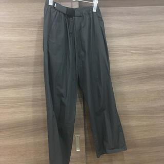 コモリ(COMOLI)のgraphpape typewriter wide cook pants (スラックス)