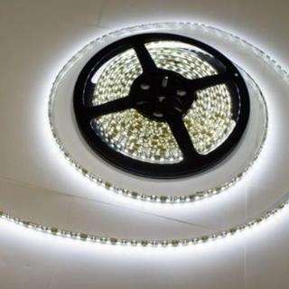 防水LEDテープ 黒ベース・ホワイト 5m 正面発光 12V 600連SMD  (蛍光灯/電球)