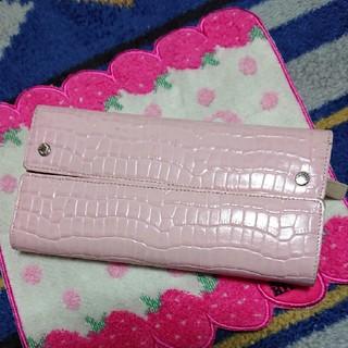 ハマノヒカクコウゲイ(濱野皮革工藝/HAMANO)の濱野 Hamano クロコレザー型押し財布(財布)