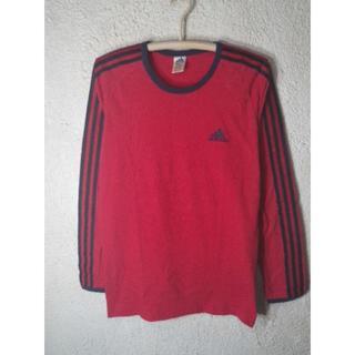 アディダス(adidas)の3553 アディダス  90s ビンテージ 国旗タグ 長袖 リンガー tシャツ(Tシャツ/カットソー(七分/長袖))