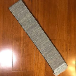 角帯 紬 グリーン系(帯)