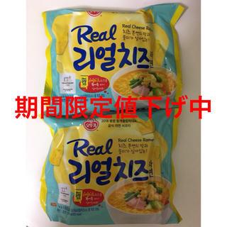 オットギ リアルチーズラーメン 135g×2袋 韓国ラーメン 人気(麺類)