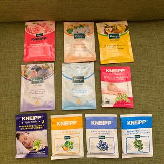 10袋 クナイプ(入浴剤/バスソルト)