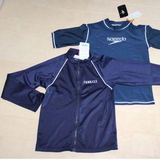 55b968755a0e5 フィオルッチ(Fiorucci)の新品ラッシュガード 2点 男の子 160 半袖長袖 ネイビー(