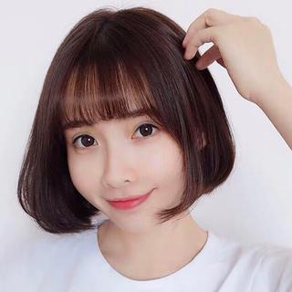 【22】茶髪 ウィッグ ショート(ショートストレート)