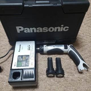 Panasonic ドリルドライバー3.6V 美品 中古(工具/メンテナンス)