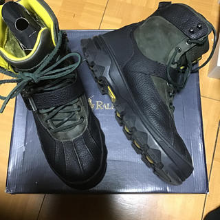 ポロラルフローレン(POLO RALPH LAUREN)のポロラルフローレン HUNTSWOODレザーブーツ 28.0cm(US9.5)(ブーツ)