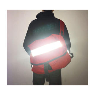ヨウジヤマモト(Yohji Yamamoto)のvintage イギリス郵便局 リフレクター 赤 軍モノ ショルダーバッグ(メッセンジャーバッグ)