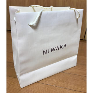 ニワカ(俄)のNIWAKAショップ袋   NIWAKAショップバック(ショップ袋)
