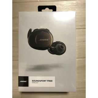 ボーズ(BOSE)の新品未開封*Bose SoundSport Free ワイヤレスイヤホン ボーズ(ヘッドフォン/イヤフォン)