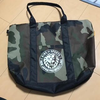 しまむら - 新日本プロレス迷彩トートバッグ