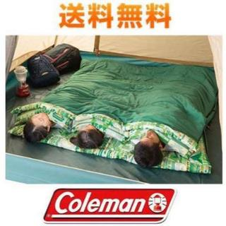コールマン 寝袋 キャンプ アウトドア ファミリー 二人用 親子 2in1(寝袋/寝具)