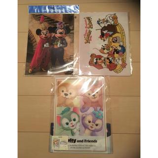 ディズニー(Disney)のディズニー ファイル  4つセット(クリアファイル)