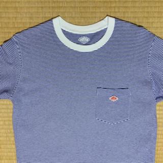 ダントン(DANTON)のDANTON ポケット付きロングTシャツ(Tシャツ(長袖/七分))