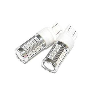 【送料込み】T20 LED ダブル 2個セット レッド(汎用パーツ)