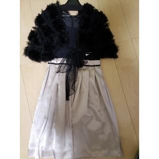 コムサイズム(COMME CA ISM)のコムサイズムのワンピースドレス&ボレロ(ミディアムドレス)