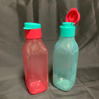 ◎水漏れ防止◎ タッパーウェア フリップキャップ エコボトル  500(容器)