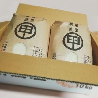 新潟コシヒカリ 10㎏(5㎏×2袋) 特別栽培米 農家直販(米/穀物)