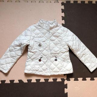 モンクレール(MONCLER)のmoncler モンクレール ダウン ジャケット 白 正規品 白タグ 100(ジャケット/上着)