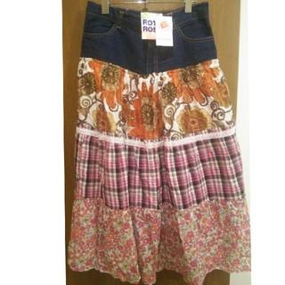 エルロデオ(EL RODEO)のエルロデオ 花柄スカート♥(ロングスカート)