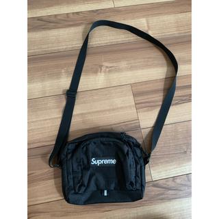 シュプリーム(Supreme)の19ss supreme Shoulder Bag黒 ショルダーバッグ(ショルダーバッグ)