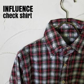 インフルエンス(Influence)のINFLUENCE/インフルエンス チェックシャツ(シャツ)