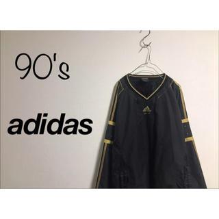 アディダス(adidas)の90's 古着 adidas オーバーサイズ ビッグプルオーバー  ユニセックス(ブルゾン)