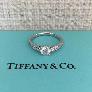 ティファニー(Tiffany & Co.)のティファニー ハーモニーリング Pt950 0.45ct E VVS-2 3EX(リング(指輪))