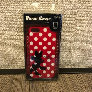 ディズニー(Disney)の【カワイイ♪】i phone SE 新品ケース ★ミニーマウス★(モバイルケース/カバー)