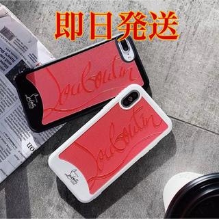 クリスチャンルブタン(Christian Louboutin)のiPhone 8Plus Christian Louboutinケース(黒)(iPhoneケース)