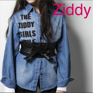 ジディー(ZIDDY)の新品 Ziddy サッシュベルト ベルト フリーサイズ ロゴ ジディ(ベルト)