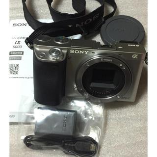 ソニー(SONY)のSONY α6000 ボディ のみ(ミラーレス一眼)