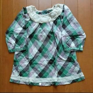 ハッカキッズ(hakka kids)のhakka kids チュニック 110(Tシャツ/カットソー)