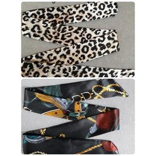 ツイリースカーフ309#リボンスカーフ(バンダナ/スカーフ)