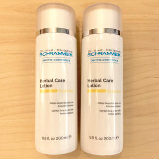 シュラメック(Schrammek)の新品 シュラメック    ハーバルケアローション2点(化粧水 / ローション)