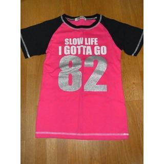 シスキー(ShISKY)のサイズ140 Tシャツ ピンク、黒 SHISKY(Tシャツ/カットソー)