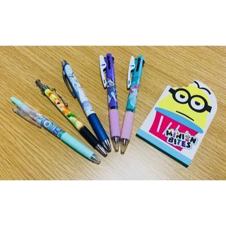 ディズニー(Disney)のディズニー プリンセスなどのシャーペンやボールペンとメモのセット(ペン/マーカー)