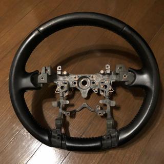 トヨタ - 30 プリウス 純正革巻きステアリング レザー
