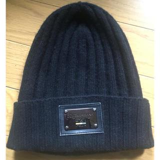 ドルチェアンドガッバーナ(DOLCE&GABBANA)のドルガバ ニット帽(ニット帽/ビーニー)