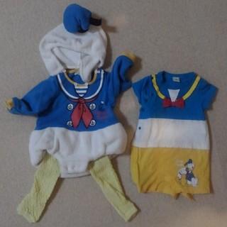 Disney - ドナルド☆ロンパースセット☆ディズニー☆仮装☆コスプレ☆コスチューム